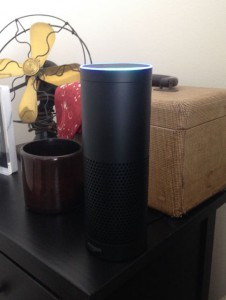 Amazon Echo voice controlled speaker