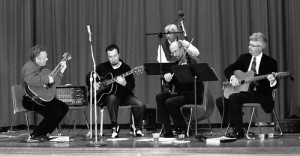 Nouveau Quintette gypsy jazz band